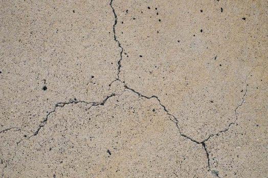 matière mur béton fissure fissuré enduit sol revêtement