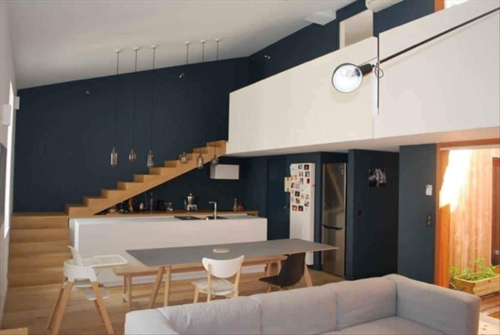 offre 11690 vente duplex renove archi bordeaux grange. Black Bedroom Furniture Sets. Home Design Ideas